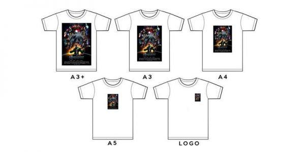 Print Digital Baju Kaos