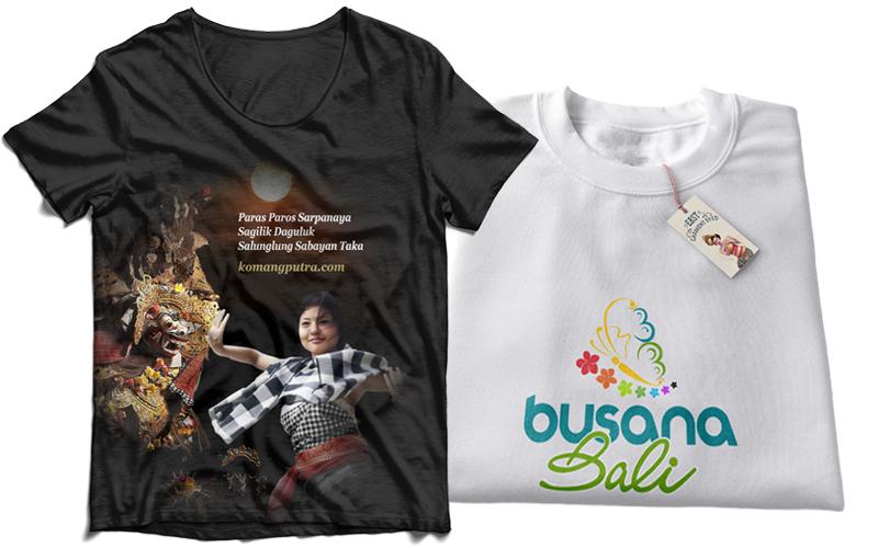 Print Baju Kaos (t-Shirt)