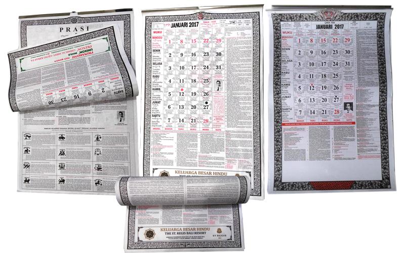 Kalender Dinding Bali
